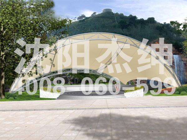 聊城广场景观膜结构