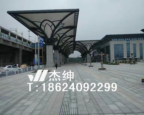 火车站前广场膜结构