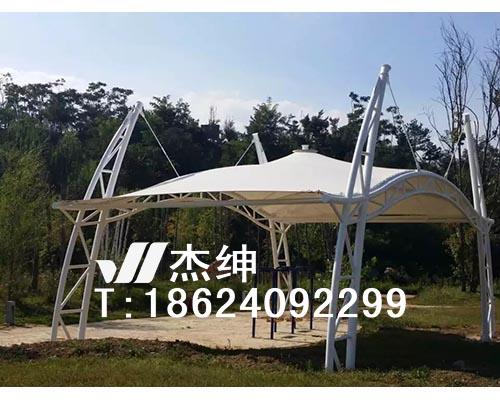辽阳龙居园婚庆舞台罩棚膜结构