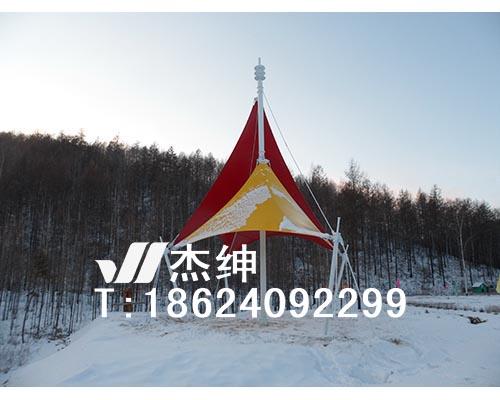 内蒙古满归七公里广场膜结构工程