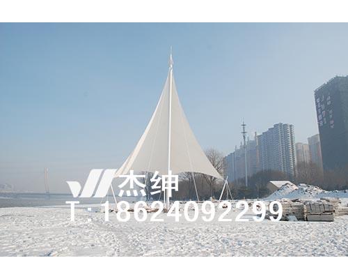沈阳奥体公园景观张拉膜结构