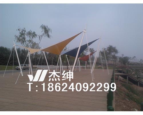 沈阳细河U谷河岸景观膜结构