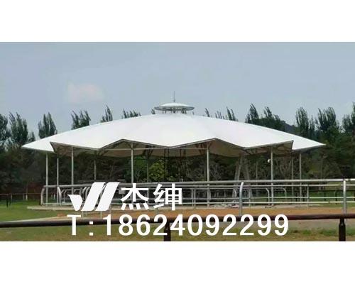 沈阳祝家遛马机屋顶膜结构