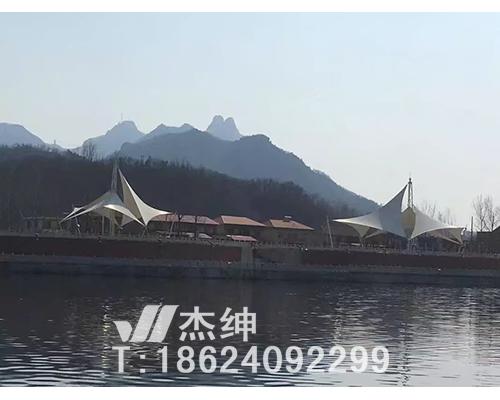 风城南河川景观膜结构