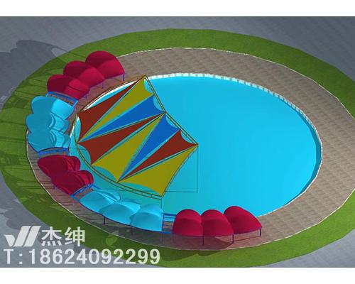 游乐-膜结构罩棚