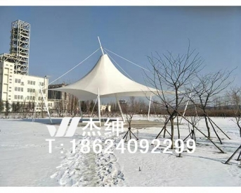 石化广场景观膜结构