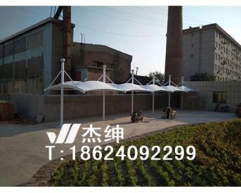 通辽电业局车棚膜结构