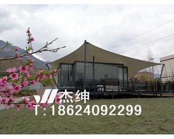 屋顶景观膜结构