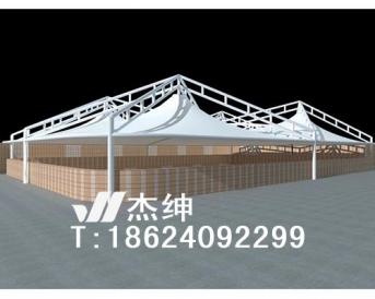 屋顶膜结构建筑
