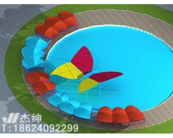 游乐设施膜结构